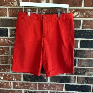 Khakis by GAP Boyfriend Roll-Up Bermudas